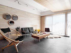 80㎡现代两居室实景图  年轻魅力之家