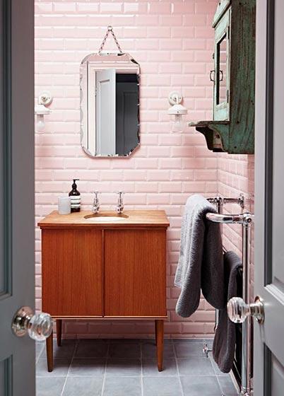 我的少女心_10款粉色系卫生间装修图