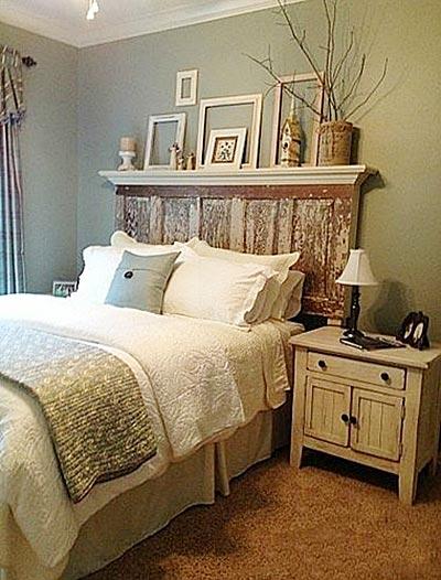 现代森系复古风格卧室装修效果图