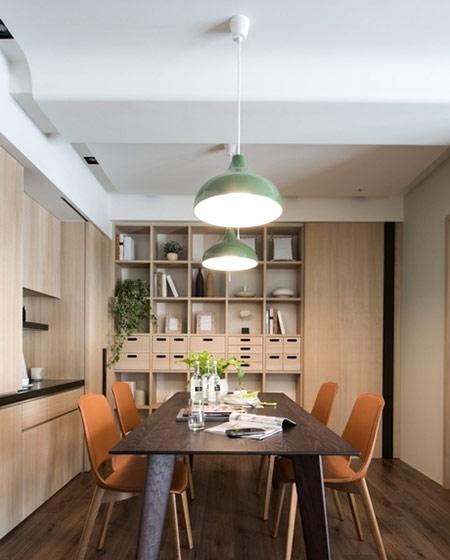 60平日式二居室餐厅收纳柜设计图