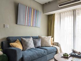 60平小户型日式风格两居室装修 温馨唯美