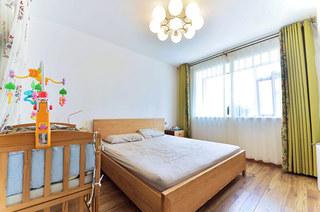 169平北欧三居室主卧室设计
