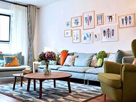 让家有味道其实很简单 美术爱好者亲子设计自己的三居美宅