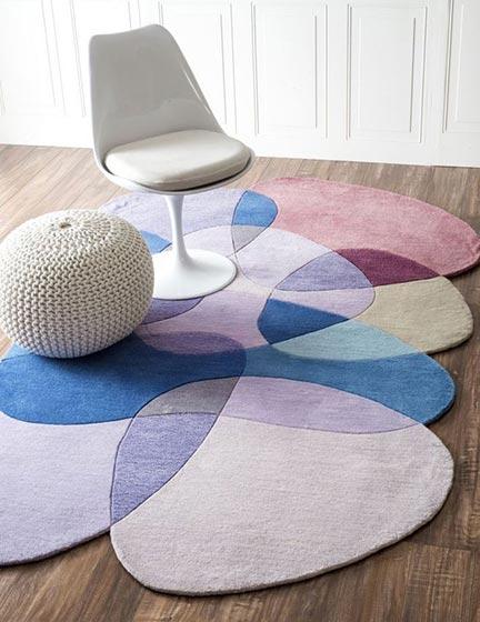 地毯搭配装修效果图