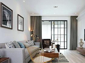 125平北欧风格三室两厅装修 温馨三口之家