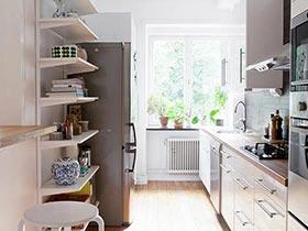 1-3㎡创造美食  10款小户型厨房装修图
