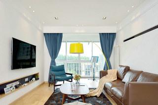 北欧田园客厅软装装饰欣赏