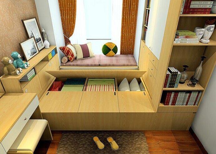 10个小房间榻榻米床实景图片
