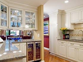 舒适开放家 10款开放式厨房图片