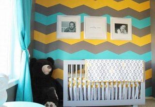 温馨婴儿房布置参考图