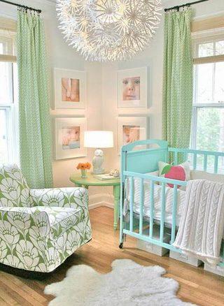 温馨婴儿房装饰图片大全