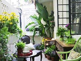 6款田园风阳台实景图 将小花园搬回家