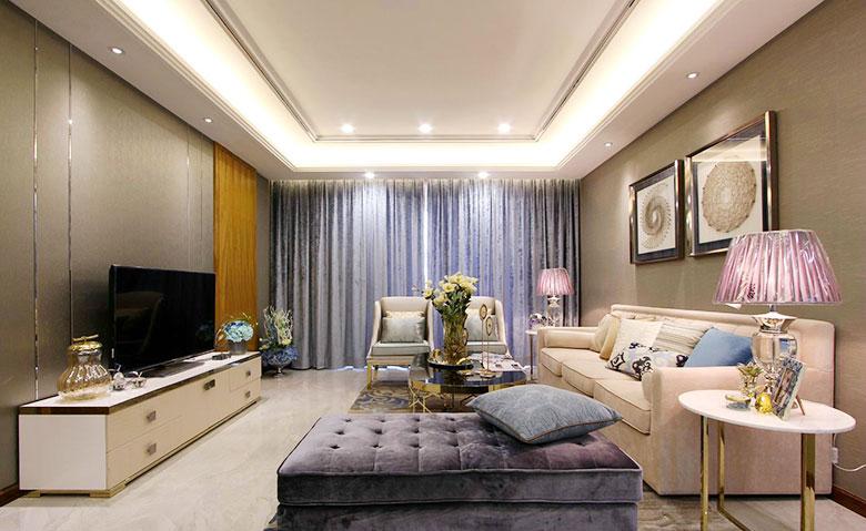 优雅欧式新古典客厅装饰大全