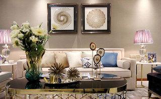 100㎡欧式两居室设计实景图