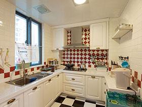 小户型厨房效果图欣赏 打造浪漫小空间