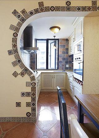 小户型厨房造型图片