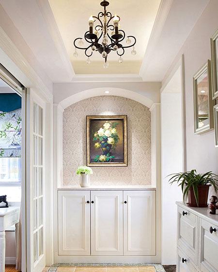 118平新古典公寓玄关设计图