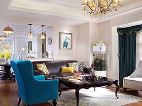 精美欧式新古典风情 三居公寓样板房