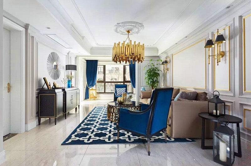 欧式新古典风格复式公寓装修