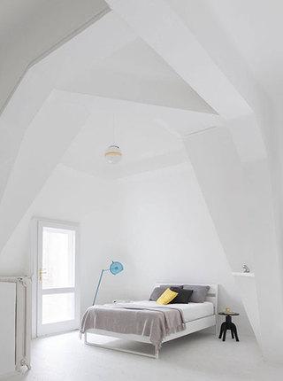 120㎡北欧风复式卧室效果图