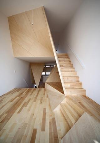 创意楼梯装修装饰图片