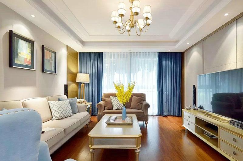 优雅气质美式客厅装饰大全