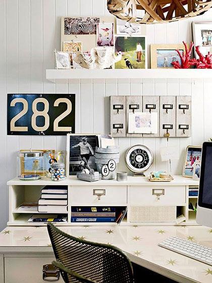 家庭工作室布置摆放图