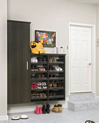 多层玄关鞋柜设计图