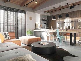106平简约日式混搭风格装修 城市木屋