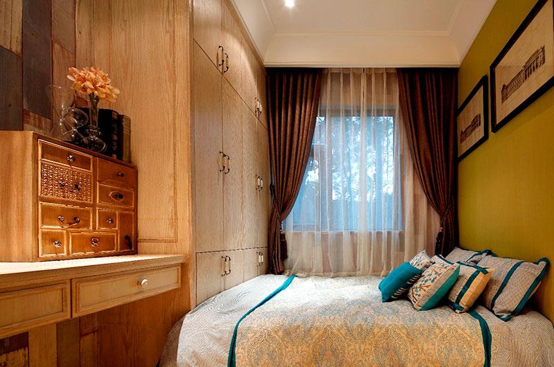 65平小户型样板房卧室装饰装修