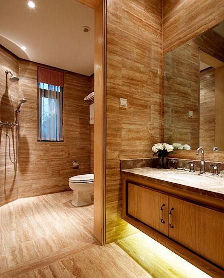 65平小户型样板房卫生间干湿分离装修