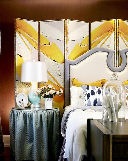 卧室搭配装修装饰效果图
