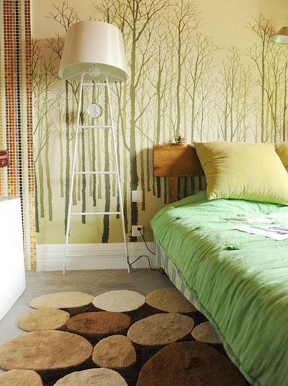 卧室搭配设计布置图