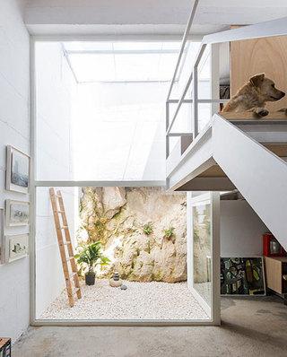 160平loft公寓室内庭院设计