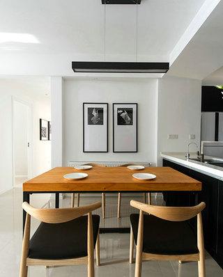 133平北欧三居室餐厅效果图