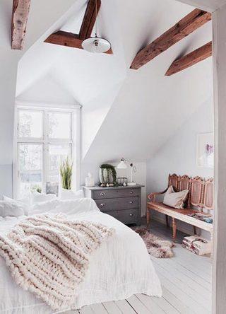 卧室床头柜装修装饰效果图