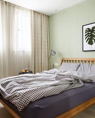 混搭风格公寓主卧室效果图