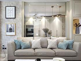 120平简约风格装修设计 温暖的居家表情