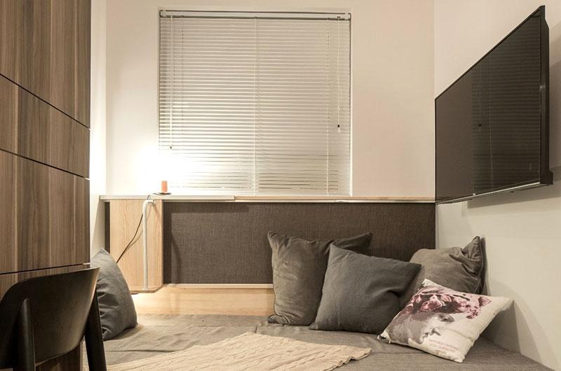 37㎡老公房沙发床效果图