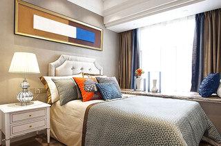 87平样板房装修卧室效果图