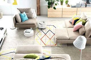 客厅茶几地毯效果图