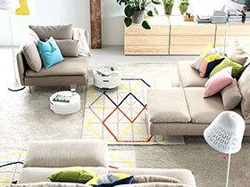 11个客厅地毯效果图 瞬间提升空间格调