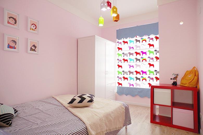甜美简约宜家风儿童房设计