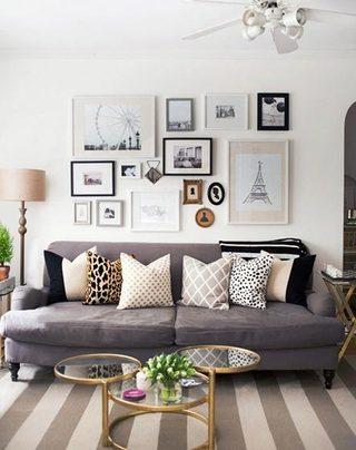 室内照片墙装修装饰图片