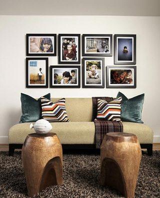 室内照片墙设计参考图