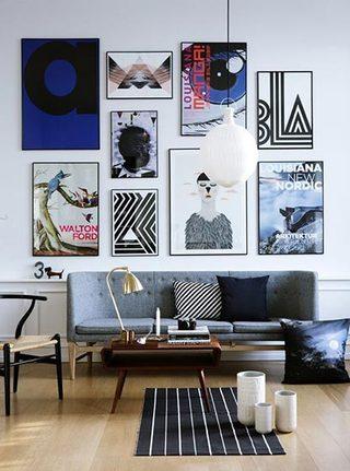客厅照片墙图片