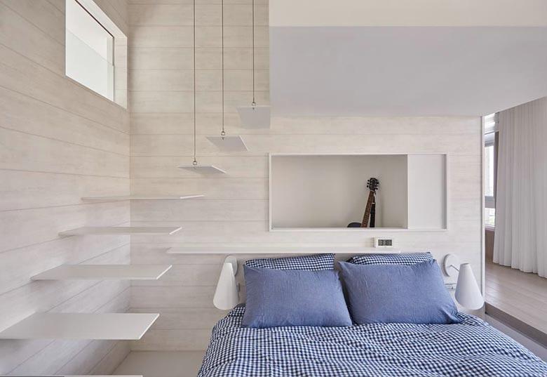 115㎡现代三居室装修平面图