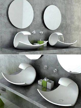 创意水槽布置设计图片
