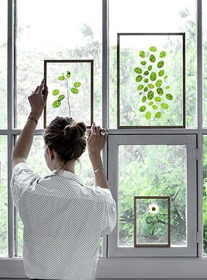 植物背景墙装修效果图