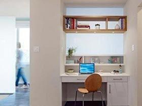 角落小书房  10款简易书房装修效果图